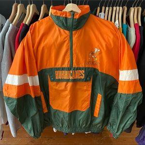 Miami Hurricanes University Vintage jacket NCAA